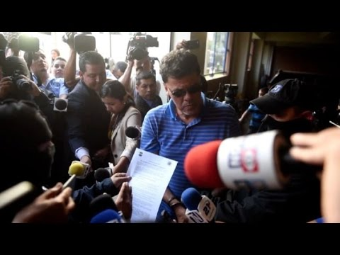 Escándalo FIFA: detienen en El Salvador a exdirigente de fútbol