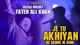 Je Tu Akhiyan De Samne | Biba Sada Dill | Remix Cover | Anees | NFAK