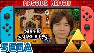 Massive News: Sakurai Adding Labo Man in Smash Switch ? 22 New Sega Games   Zelda Triforce Trademark