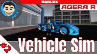 Roblox: Vehicle Simulator : Ep 2 : Agera R : I'm Ready for you Locus!!