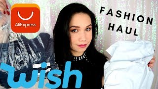 Fashion Haul z WISH a Aliexpress