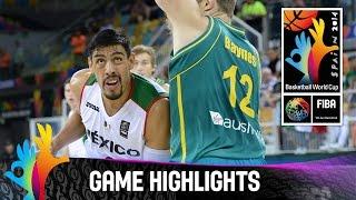 Mexico v Australia - Game Highlights - Group D - 2014 FIBA Basketball World Cup