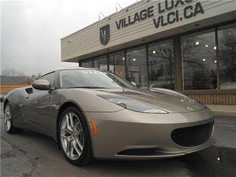 2011 Lotus Evora In Review Village Luxury Cars Toronto Youtube
