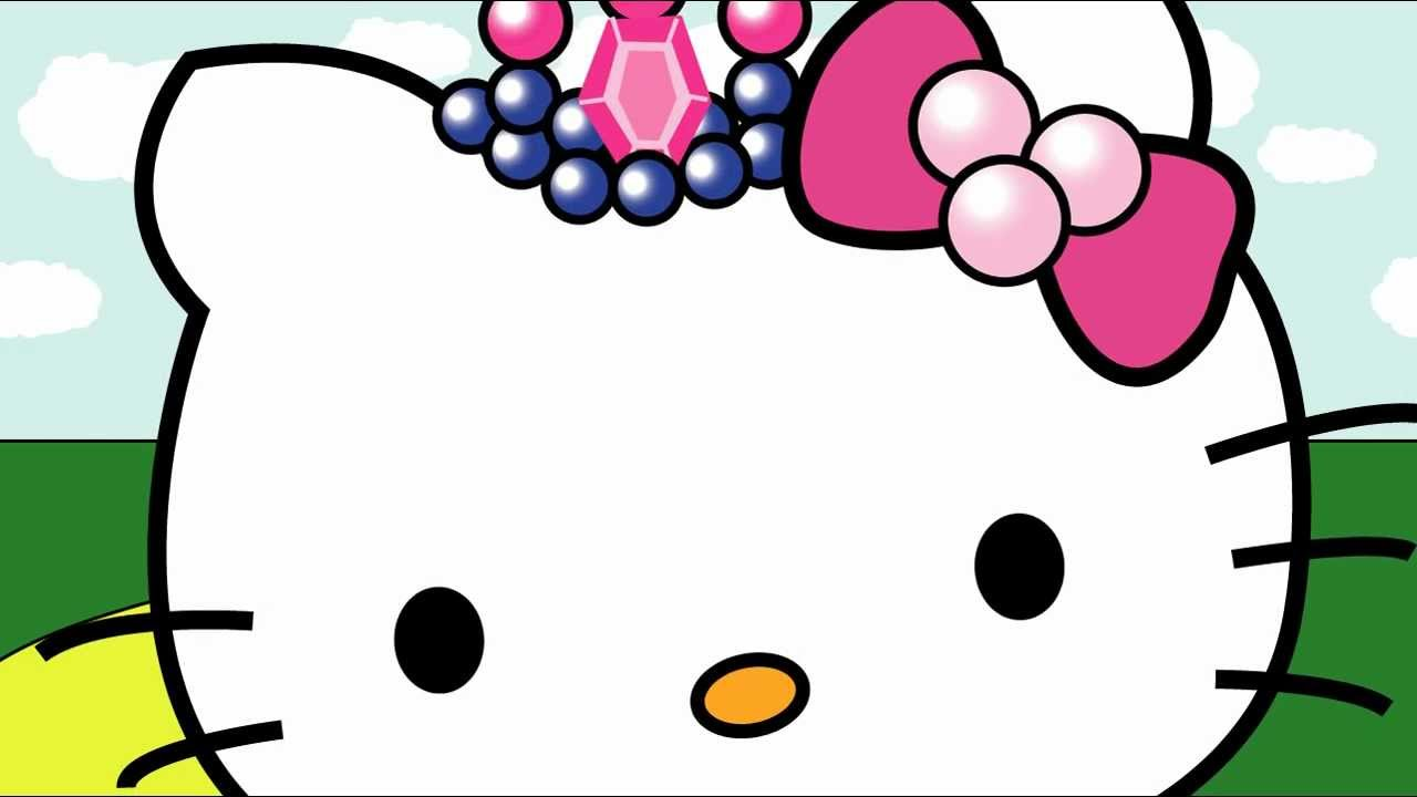 hello kitty becomes a princess class assignment youtube. Black Bedroom Furniture Sets. Home Design Ideas