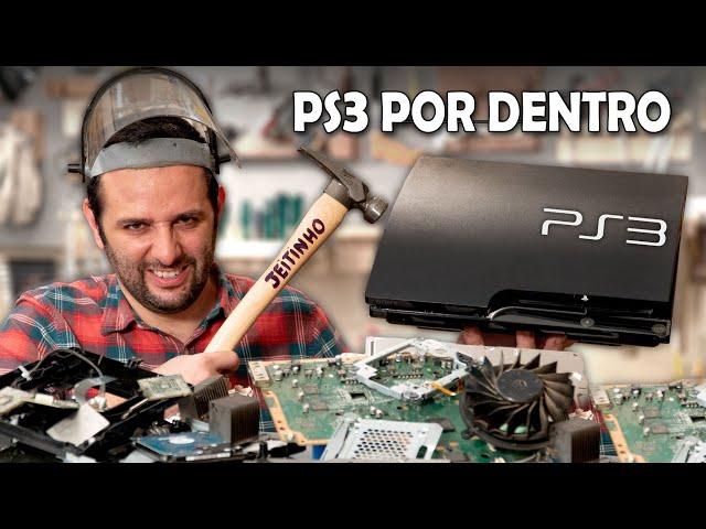 O que tem dentro de um PlayStation 3?