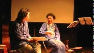 Ayuo -の音楽作りについてのインタビュー インタビューしているのは粟津ケン.