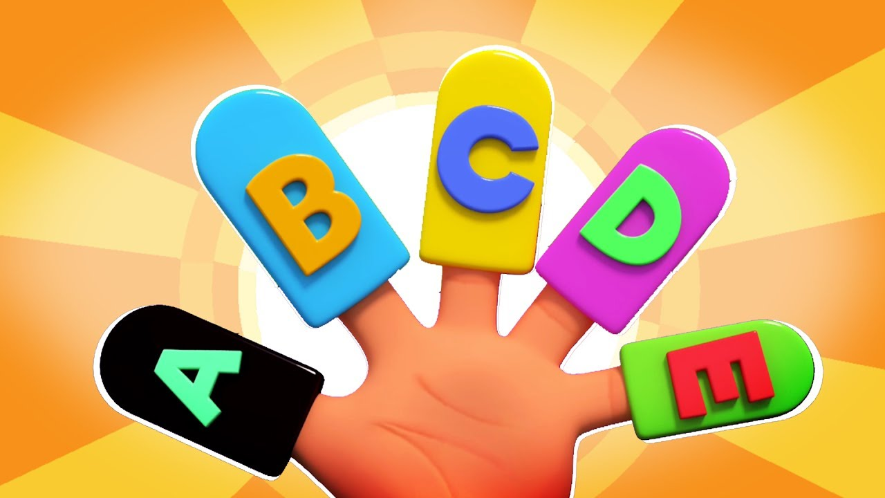 Huruf Finger Keluarga | Keluarga sakit es krim | Alphabet Song | Learn Abc | Alphabets Finger Family