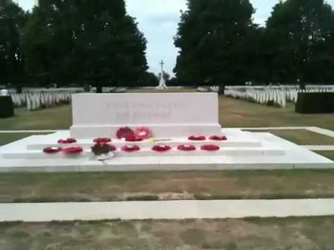 Bayeux War Cemetery, Normandy, France