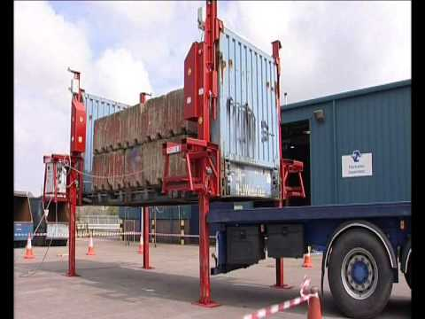 Container Lifting System Impact Tests Youtube