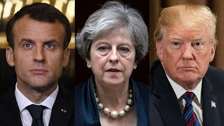 Live: US, UK and France launch strikes on Syria