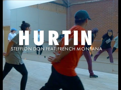 HURTIN   Stefflon Don ft French Montana   Choreography by Stefanie Santiago and Natalie Gilmore