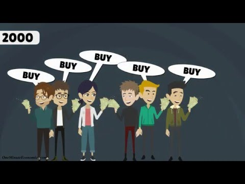 The Dot Com Bubble Explained in One Minute
