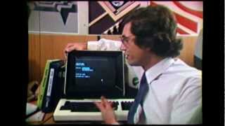 The First Microprocessor TV Commercial