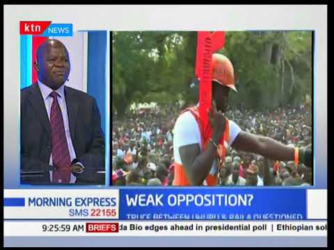KTN News Centre - 13th March 2018: Discussion on the state of Kenyan Opposition