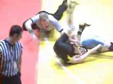 2008 NYSPHSAA D1 Wrestling Championships 112 lb Prelim.