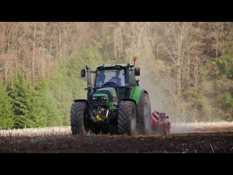 Deutz 6190 C-Shift und Kverneland Scheibbenegge - Most Popular Videos