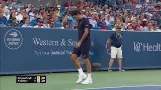 Highlights: Federer Begins Cincinnati 2018 Campaign