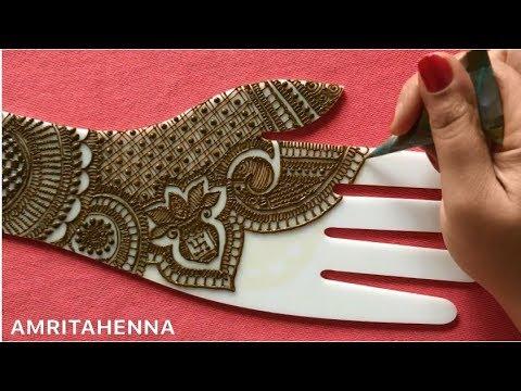 BRIDAL MEHENDI FULL DETAILED VIDEO | LEARN RAJASTHANI DULHAN MEHNDI ONLINE