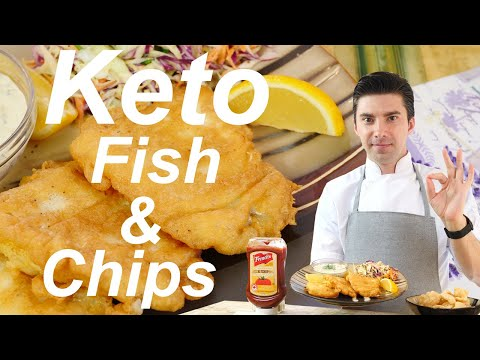 How To Make The Best Keto Fish & Chips