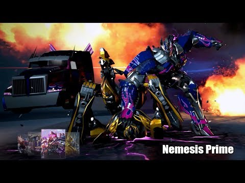 Nemesis Prime The Last Knight On Jazz Studio Map - TRANSFORMERS Online Capture The Flag Gameplay