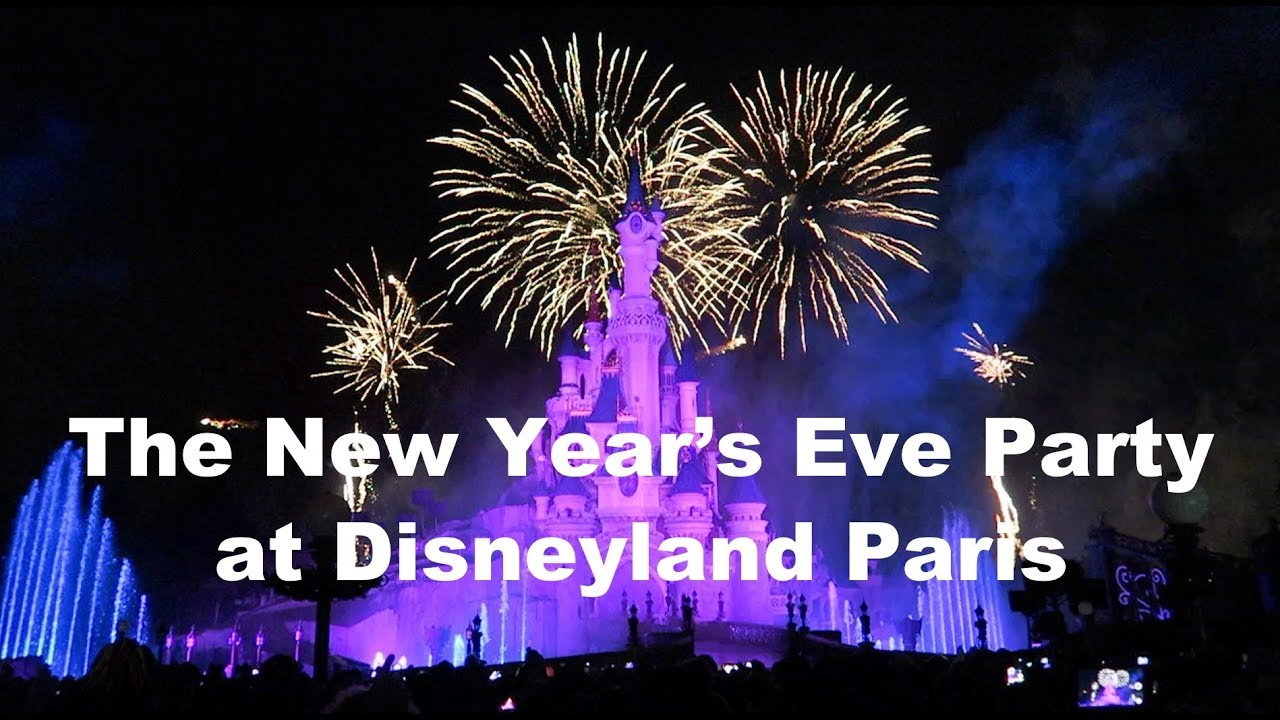 The New Years Eve Party At Disneyland Paris