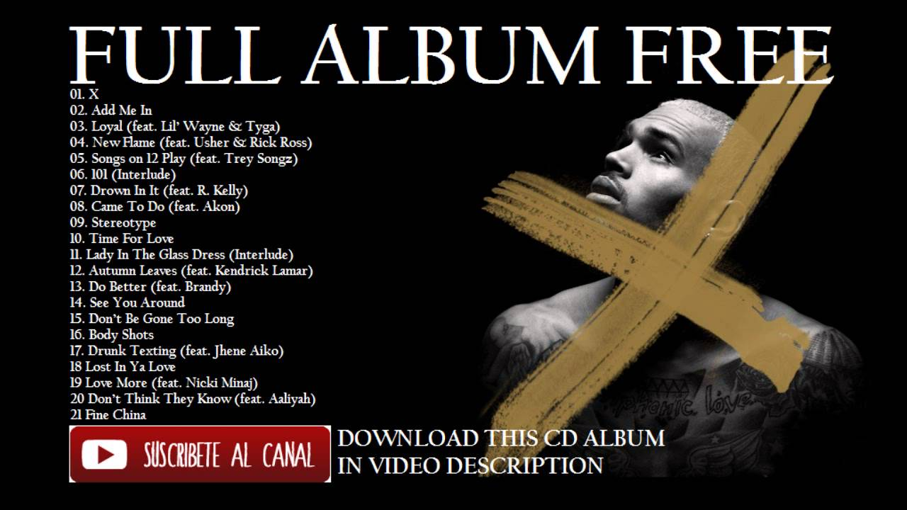 chris brown x album free download
