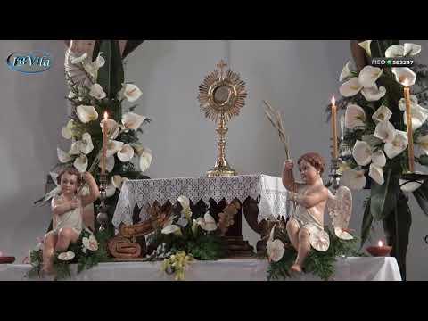 Exposição do Santíssimo - Igreja Matriz - Vila de São Sebastião