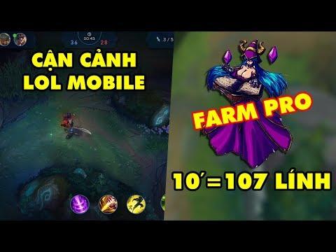 Update LMHT: LOL Mobile hé lộ những hình ảnh đầu tiên – Farm lính như nào là PRO?