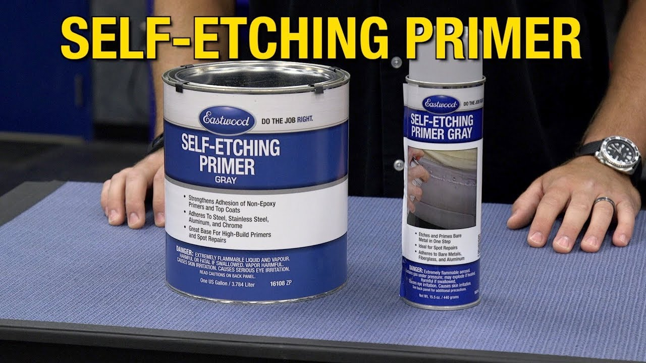 Self Etching Primer Etches Primes Bare Rust Free Metal All In One Step Eastwood Youtube