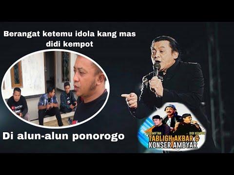 Otw Konser Ambyar Didi Kempot Gus Miftah Di Alun Alun Ponorogo
