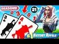 BLACKJACK Card GAME *21* Game Mode in Fortnite Battle Royale
