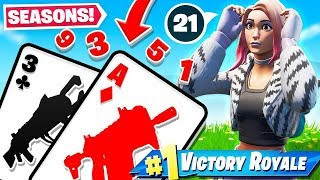 BLACKJACK Card GAME *21* Game Mode in Fortnite Battle Royale