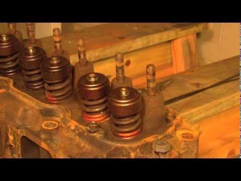 Part 1 250 Inline 6 Valve Seals Repair | Valve Lapping