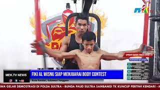 Fiki Al Wisnu Siap Menjuarai Body Contest