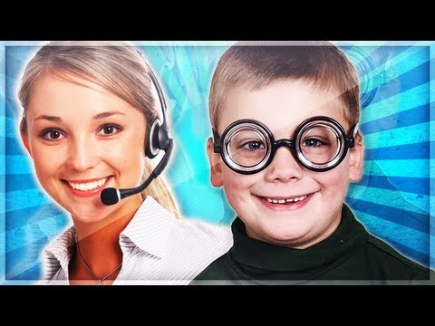 Little Kid Hits on a Girl Gamer