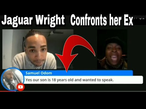 JAGUAR WRIGHT GOES OFF ON HER EX SAMUEL ODOM WHEN SHE FINDS OUT HES IN THE CHAT