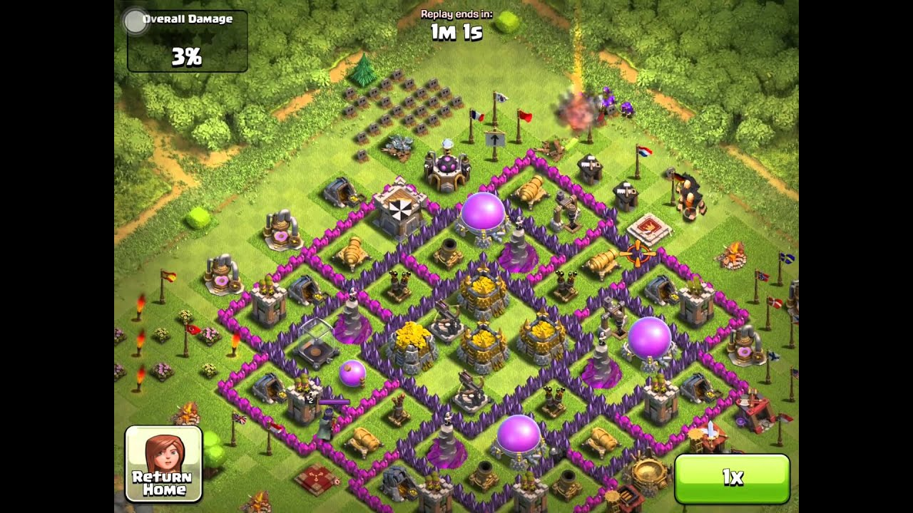Clash of clans th 9 farming don t be afraid of xbows youtube