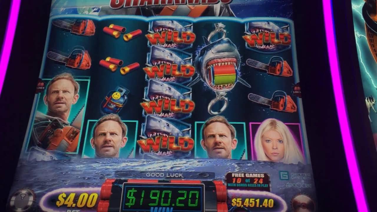 Sharknado Slot Machine