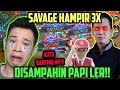 SAVAGE HAMPIR 3X DISAMPAH MARSHA!! AUTO BANTING HP!! Ft Rasyah ;(( Mobile Legends