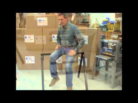 Toronto Tool sawhorses & professional work stands