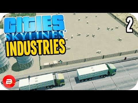 Cities: Skylines Industries - Sheep Farming Industry #2