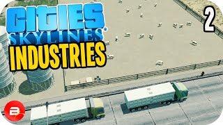 Cities: Skylines Industries - Sheep Farming Industry #2