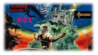 Castlevania/Vampire Killer (MSX2/1986) {GERMAN} #1  - Willkommen in Transsilvanien [Let's Play]