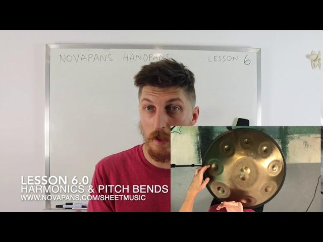 Harmonics & Pitch Bends   Lesson 6   Handpan Lessons   NovaPans Handpans