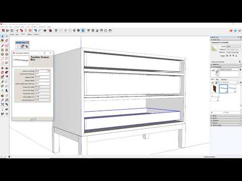 Dynamic Components in SketchUp - FineWoodworking