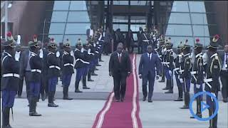 DRC hosts first official visit of South Africa's Ramaphosa