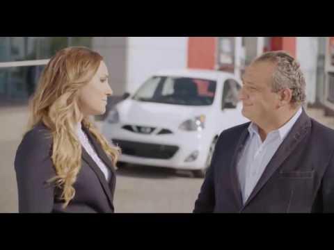 Giovanni Apollo et Valérie Chiasson - Publicité Nissan Gabriel
