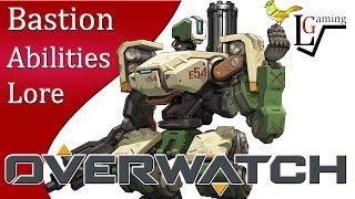 Overwatch Gameplay - Bastion (Abilities & Lore)