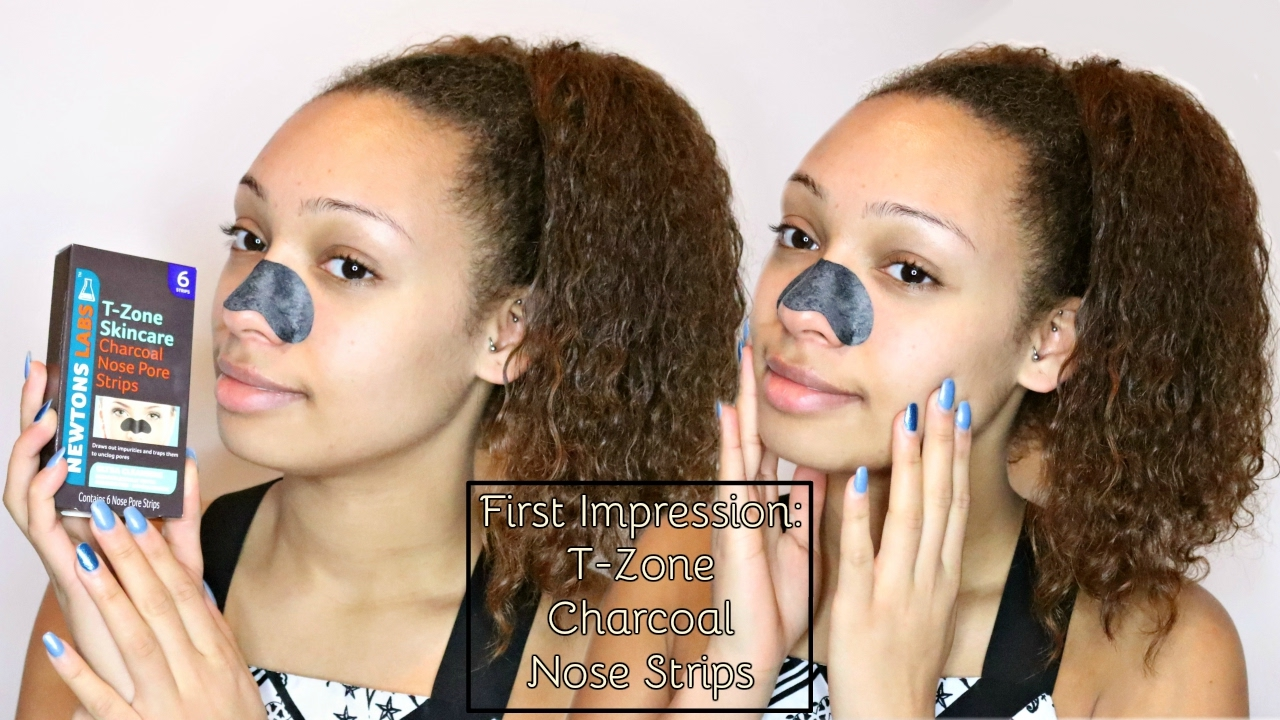 First Impressions T Zone Charcoal Nose Strips Valerie Stormer Youtube