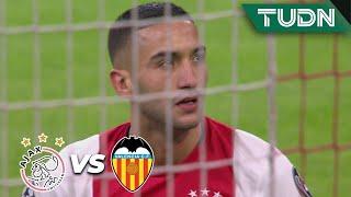 ¡La que desperdicia el Ajax! | Ajax 0 - 1 Valencia | Champions League - J 6 - Grupo H | TUDN